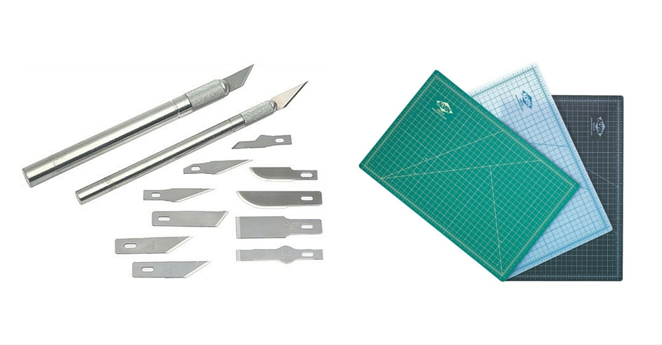 3D Printing Tools, 3D Printing Accessories, knife, Cutting Matt