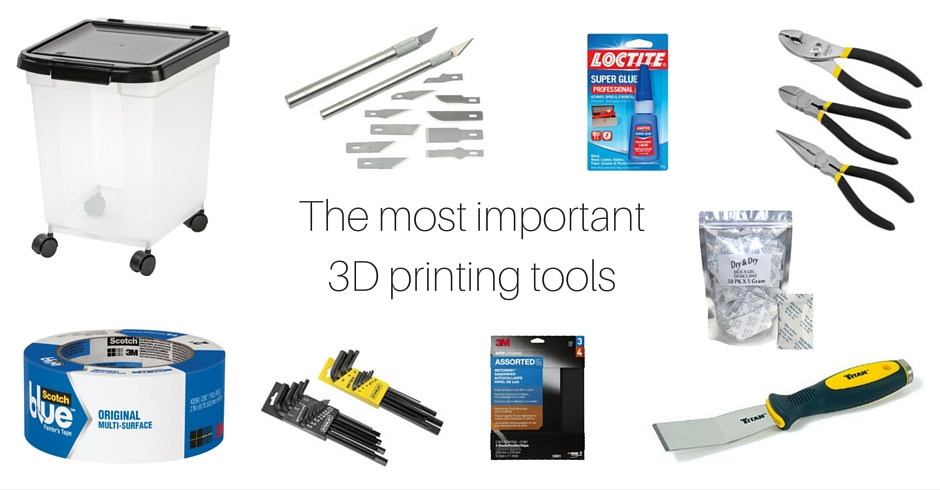 3D Printing Tools, 3D Printing Accessories