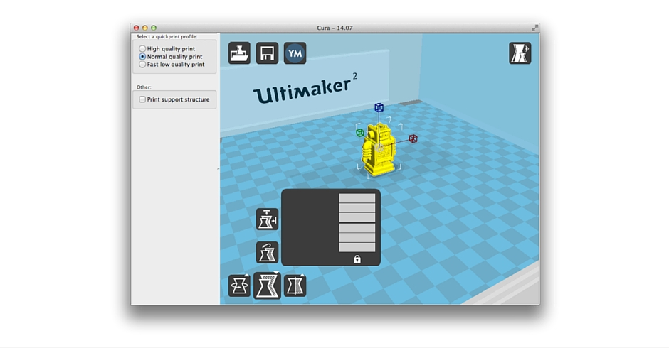 3D Printing Software, 3D Printer Slicer, Cura, Manual Supports