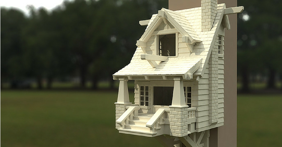3D Printing Ideas, 3D Printer Projects, 3D Printed Birdhouse