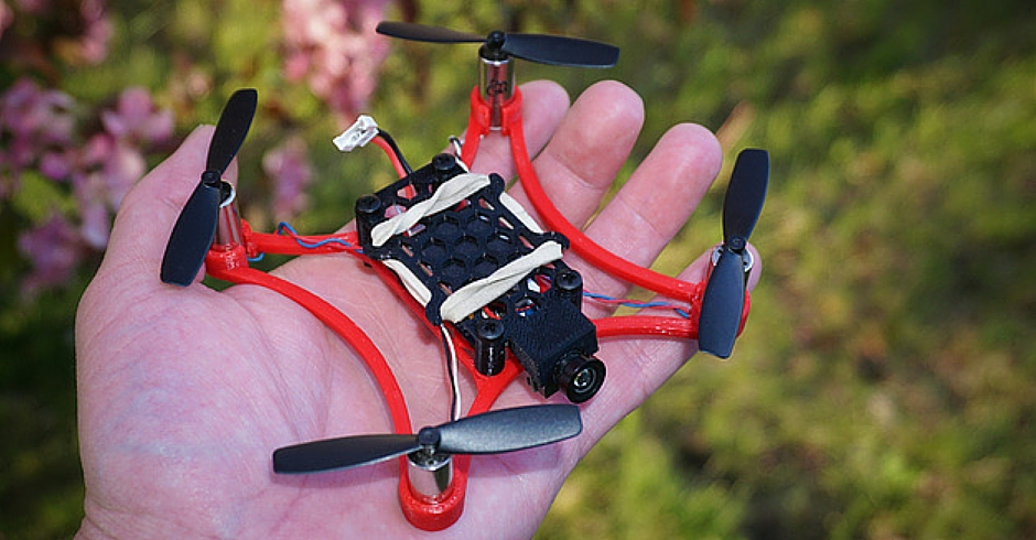 3D Printing Ideas, 3D Printer Projects, 3D Printed Micro Quadcopter