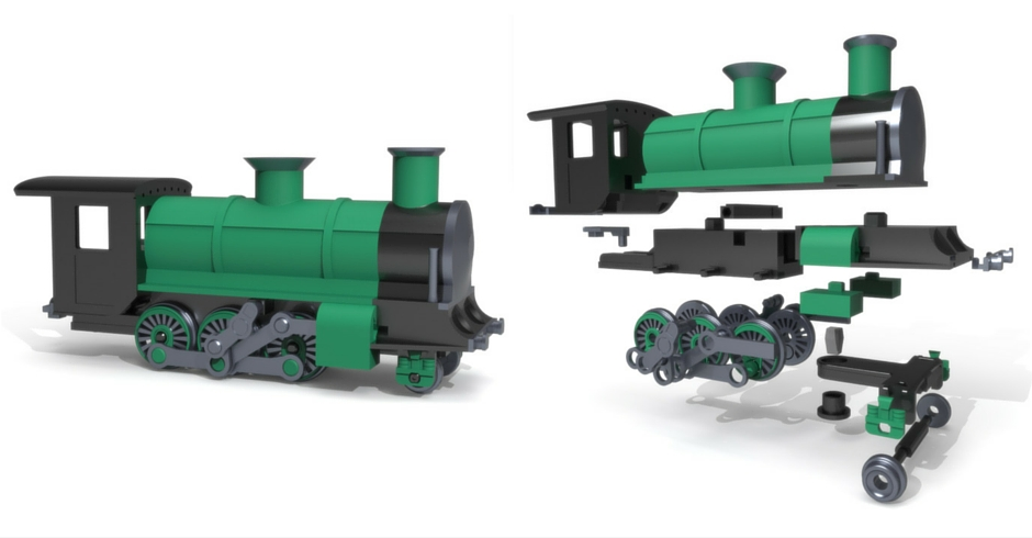 3D Printing Ideas, 3D Printer Projects, 3D Printed Steam Engine