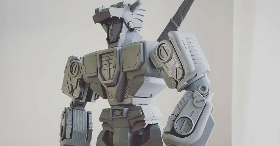 3D Printing Ideas, 3D Printer Projects, Voltron
