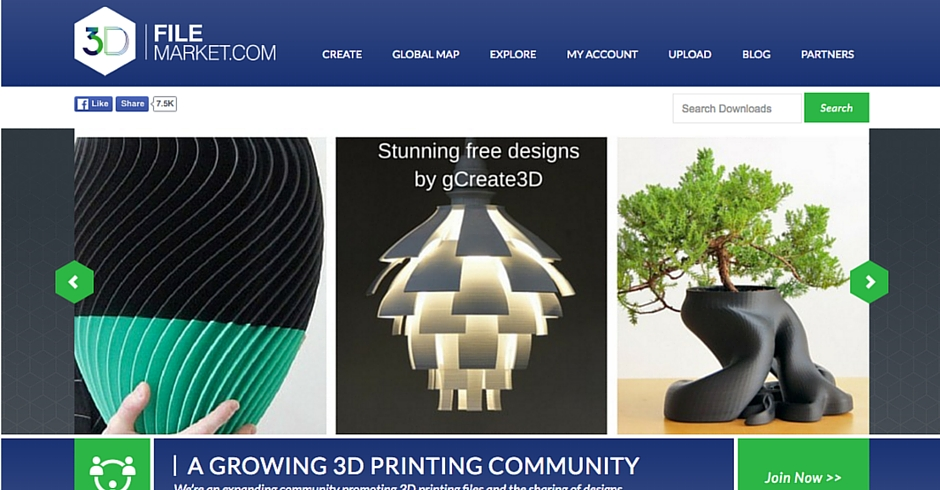 STL Files, 3D Printing Models, 3D File Market