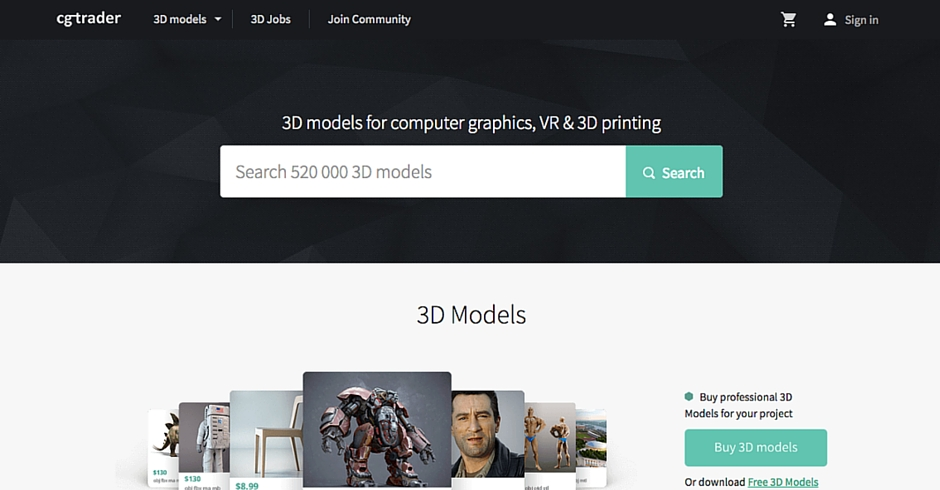 STL Files, 3D Printing Models, CGTrader