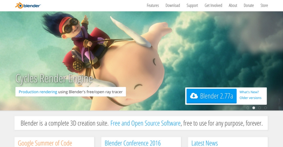 3D Modelling Software, 3D Modelling Programs, Blender