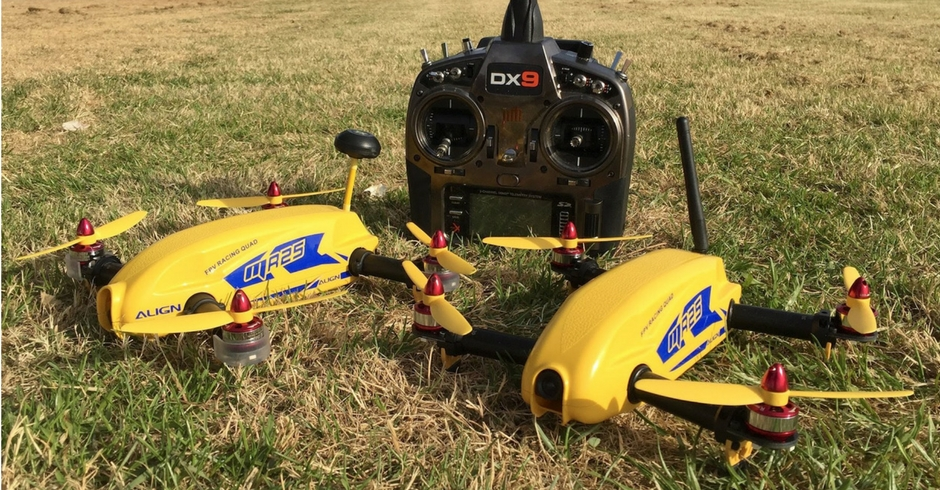 3D Printed Drone, 3D Printed Quadcopter, Align FPV Racing Drone