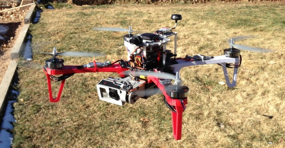 3D Printed Drone, 3D Printed Quadcopter, Crossfire 2