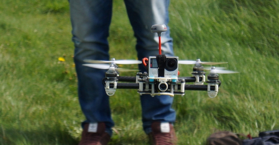 3D Printed Drone, 3D Printed Quadcopter, Firefly B