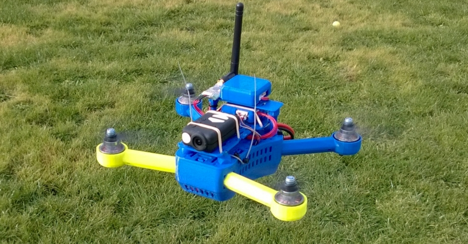 3D Printed Drone, 3D Printed Quadcopter, T4 Quadcopter Mini 250