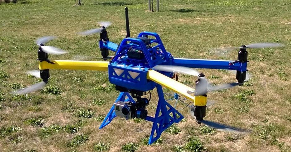 3D Printed Drone, 3D Printed Quadcopter, TX8 Octocopter