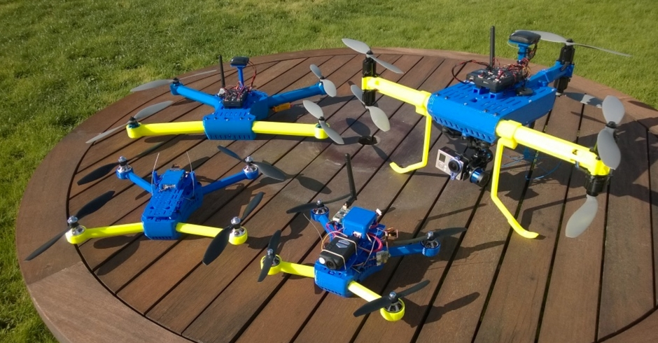 3D Printed Drone, 3D Printed Quadcopter
