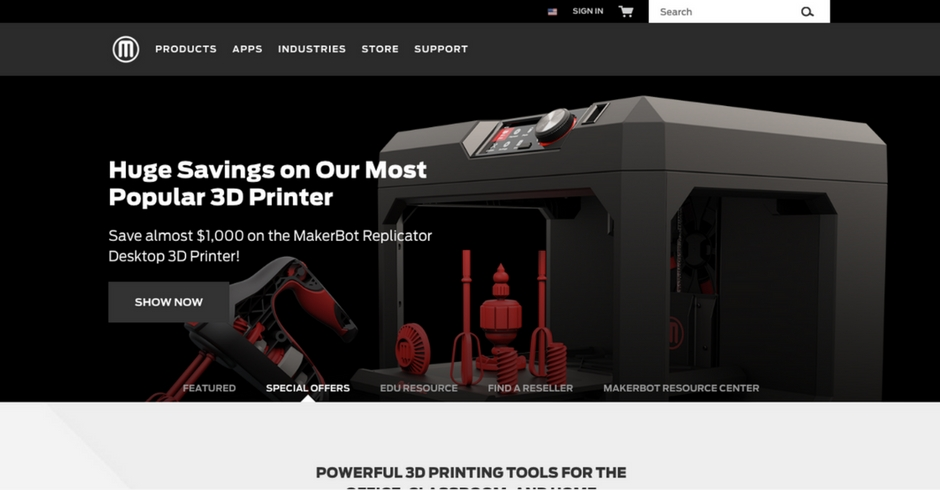 3D Printing Companies, 3D Printing Technology, Makerbot