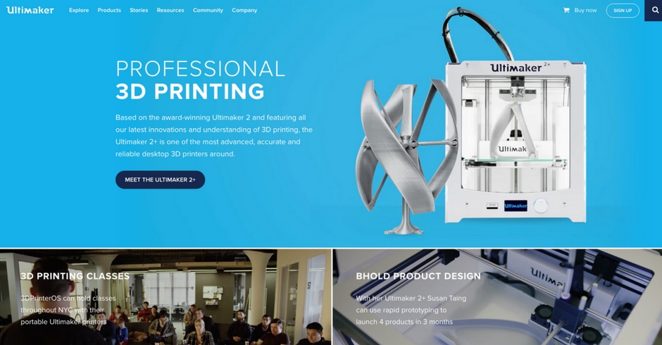 3D Printing Companies, 3D Printing Technology, Ultimaker