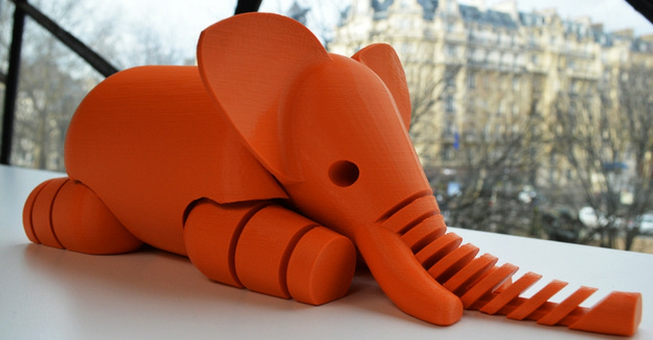 Things To 3D Print, 3D Printed Elephant