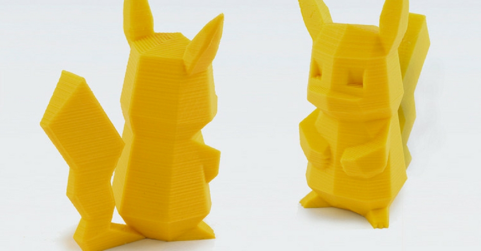 Things To 3D Print, 3D Printed Low Poly Pokemon