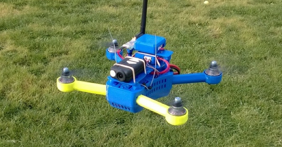 Things To 3D Print, 3D Printed T4 Quadcopter Mini 250